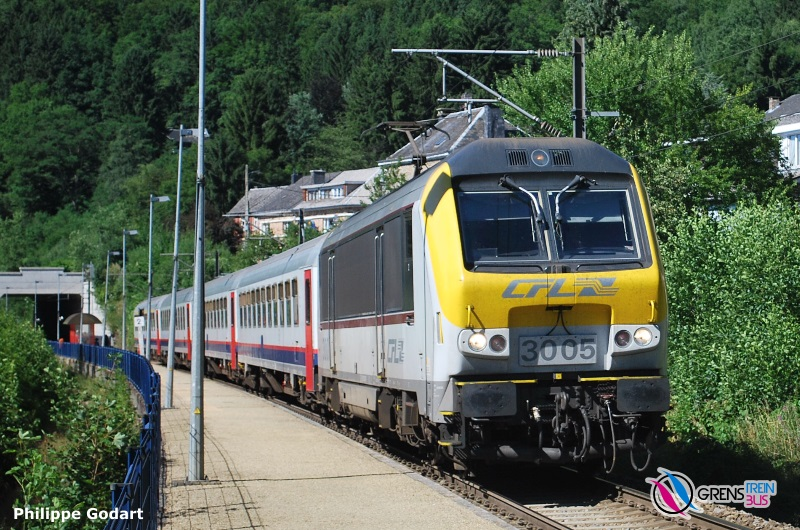 Luik Guillemins Luxemburg Grensoverschrijdende Treinen En Bussen