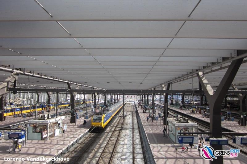 verlaten treinstation nederland